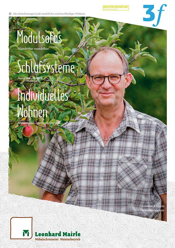 Kundenmagazin für natürliches und nachhaltiges Wohnen